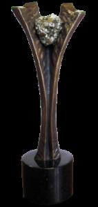 statuetka KRUSZEC BIZNESU 2014 PRZEZ